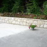 Granite Flowerbed, Wicklow, Heritage Stonemasons