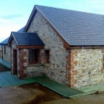 Donegal Quartz Mix House, Heritage Stonemasons