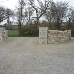 Ballyknockan Granite Entrance, Co. Wicklow, Heritage Stonemasons