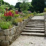 Granite, Shale & Sandstone Garden Wall, Co. Wicklow, Heritage Stonemasons