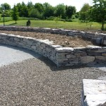 Stone Flowerbeds - Limestone - Co. Kildare, Heritage Stonemasons