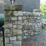 Salvaged Granite Entrance, Co. Wicklow, Heritage Stonemasons