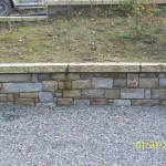 Tipperary Sandstone, Granite Capping,Wall, Co. Kildare, Heritage Stonemasons
