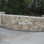 Granite Entrance, Co. Wicklow