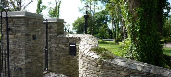 Stone Entrance Pillars : Stone entrances entrance walls