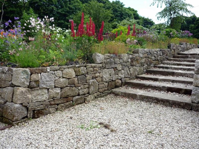Stone Wall With Garden Steps Wicklow