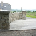 Granite Entrance, Co. Wicklow - Heritage Stonemasons