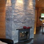 Stone fireplace for stove dublin