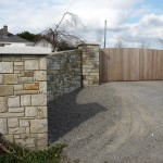 Sandstone Entrance, Co. Wicklow - Heritage Stonemasons