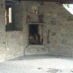Stone Outdoor Fireplace - County Kildare