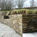Sandstone Wall - Ballymore Eustace, Co. Kildare