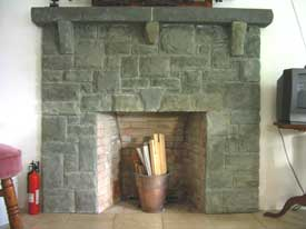 Limestone Fireplace - Co. Carlow