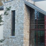 Stone front on house Dublin