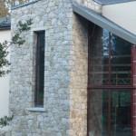 Stone front on house Dublin