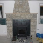 Granite Fireplace for Stove