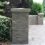 Stone Entrance Pillar